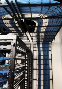 Intermediate Distribution Frame Cable Management